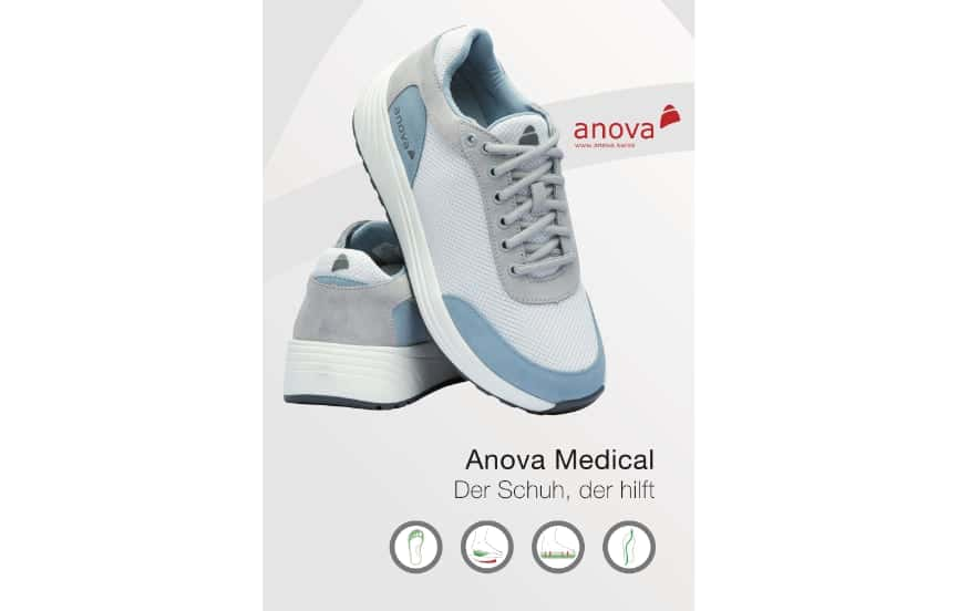 Anova Medical Schuhkatalog