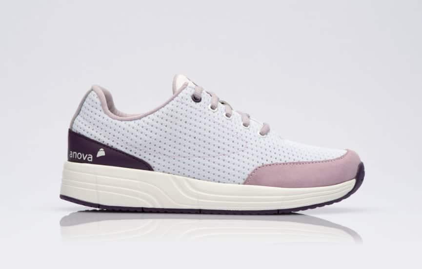 Damen Schuh Anova Angelina White Bright Purple