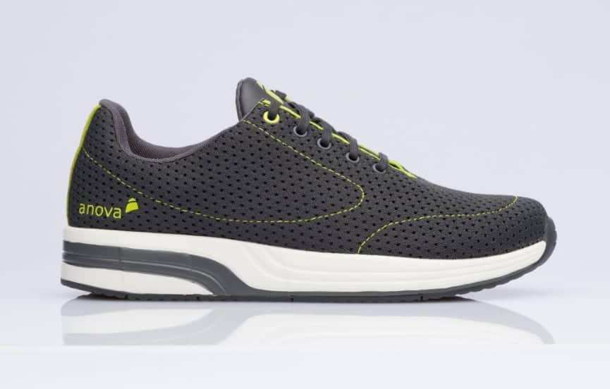 Herren Schuh Anova Comfort Lorenzo Dark Grey