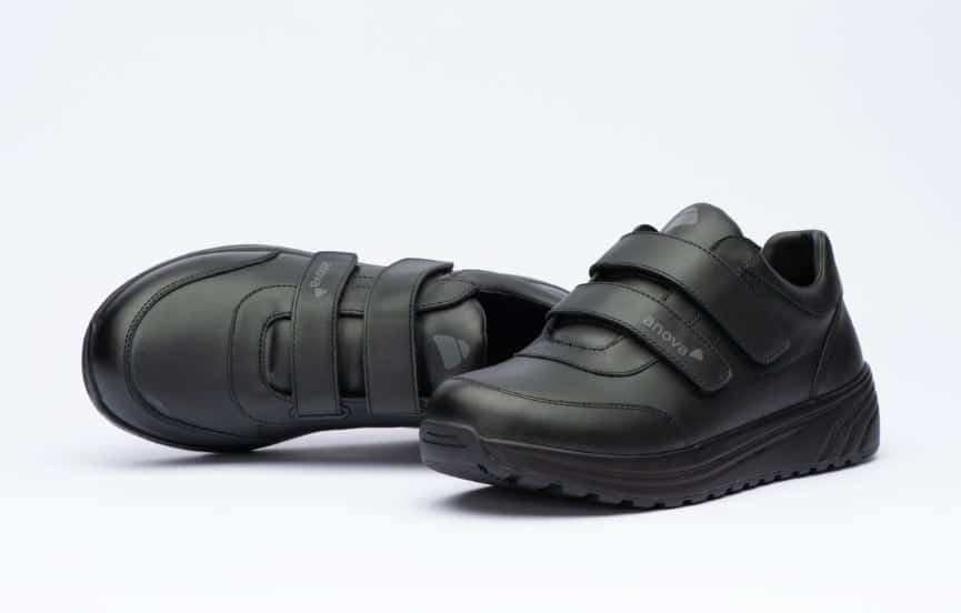 Klett Gesundheitsschuh Damen Anova Livia Black Velcro