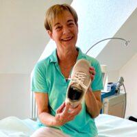Pflegefachfrau Arlette Koch Anova Gesundheitsschuh
