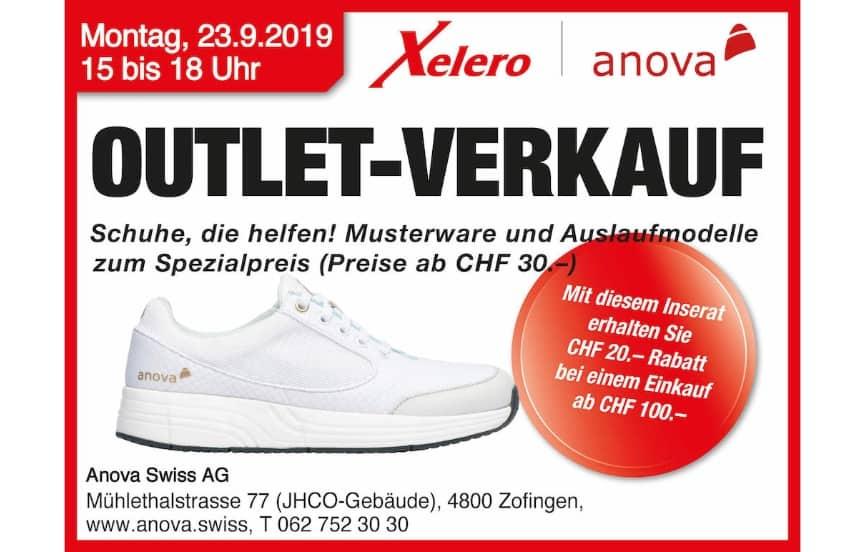 Xelero Outlet September 2019