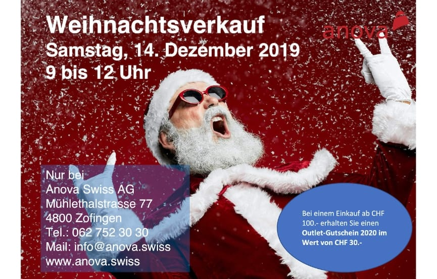 Anova Xelero Schuhe Weihnachtsverkauf Zofingen