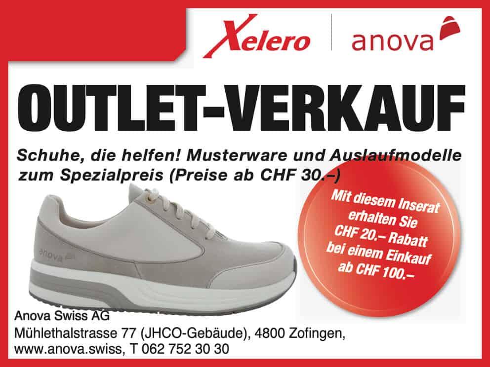Schweizer Technologie für bequeme Schuhe: Anova › Anova Schuhe