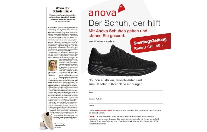 Anova Schuhe Sonntagszeitung